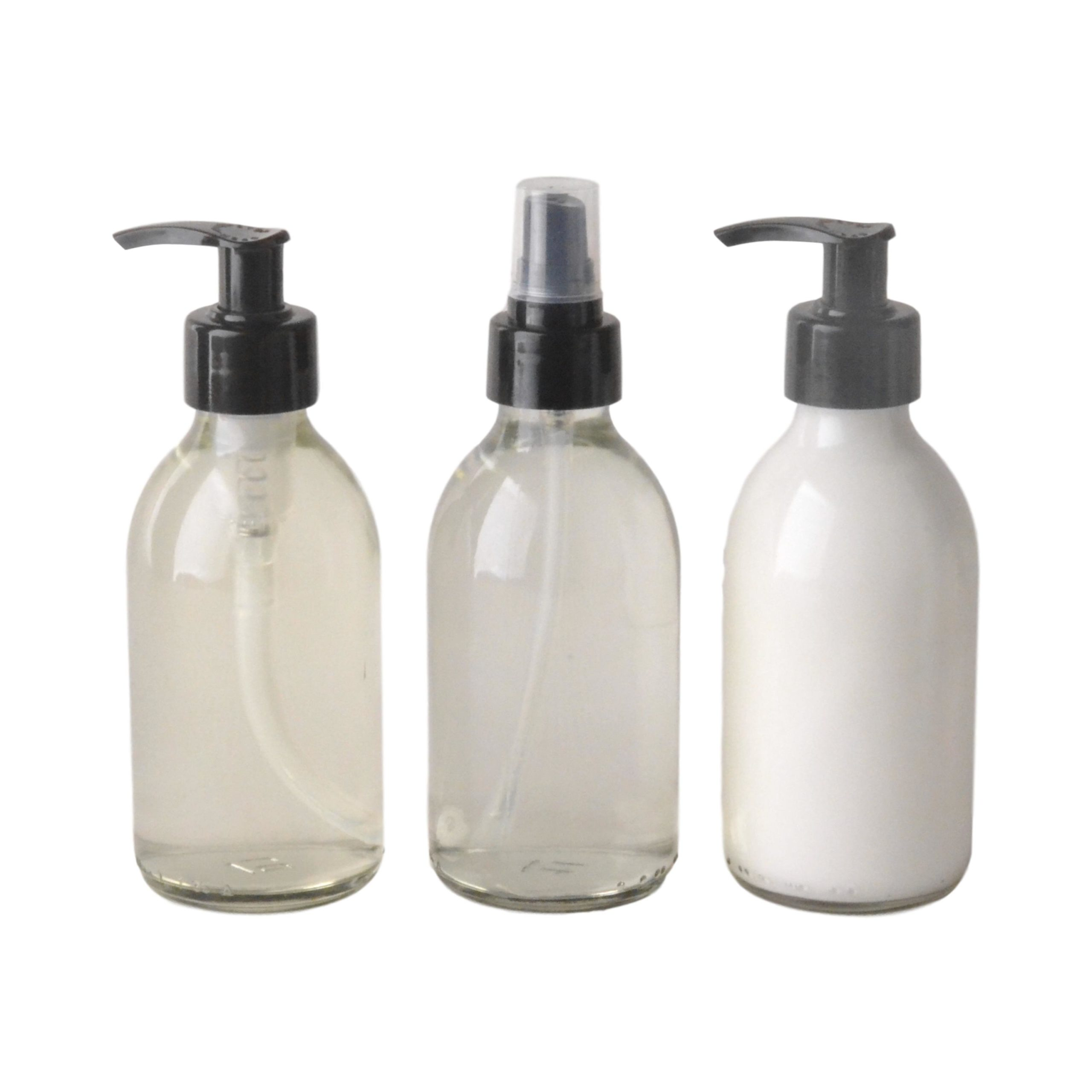 Bulk-Body-Care-Lotion-Wash-Room-And-Linen-Perfume-200Ml-6-Units-Each-Amber-Bottles